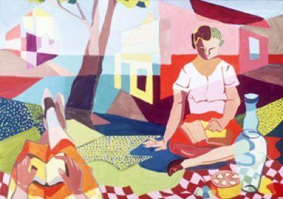Dos mujeres leyendo, de Sylvia Plath