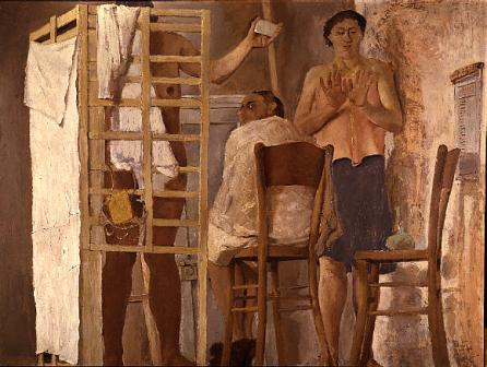 El baño, de Fausto Pirandello