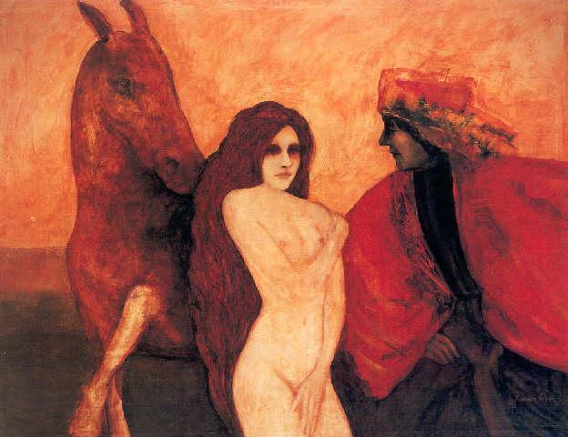 Jinetes florentinos, de Francisco Corzas