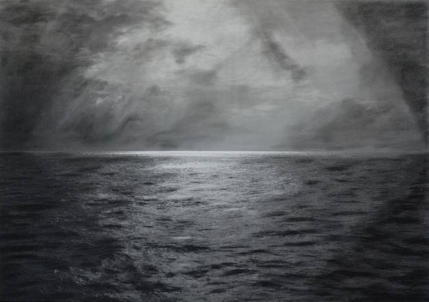 Horizonte iluminado, de Nakis Panayotidis