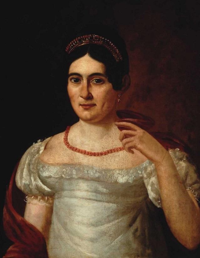 Retrato de Rafaela Díaz de Heria, anónimo