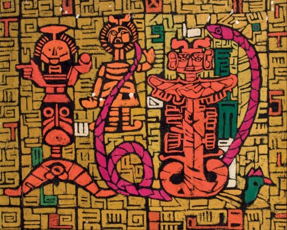 Composiciones figurativas, de Luis Crespo Ordóñez