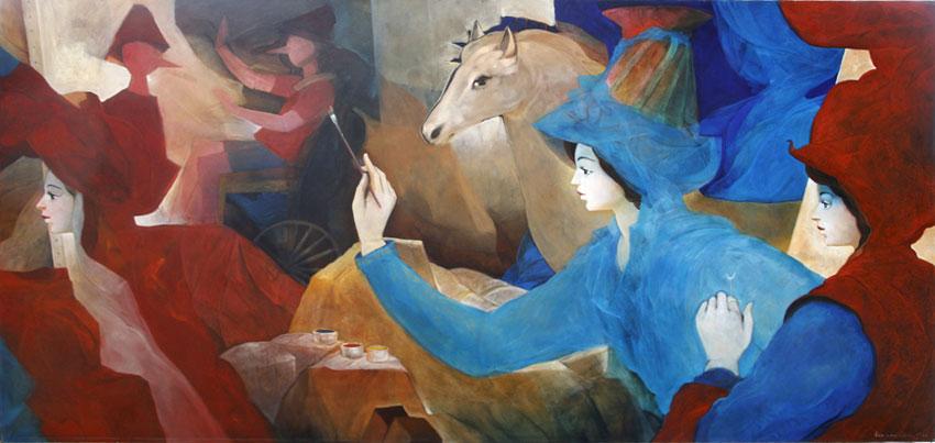 Pintura de Rafa Fernández