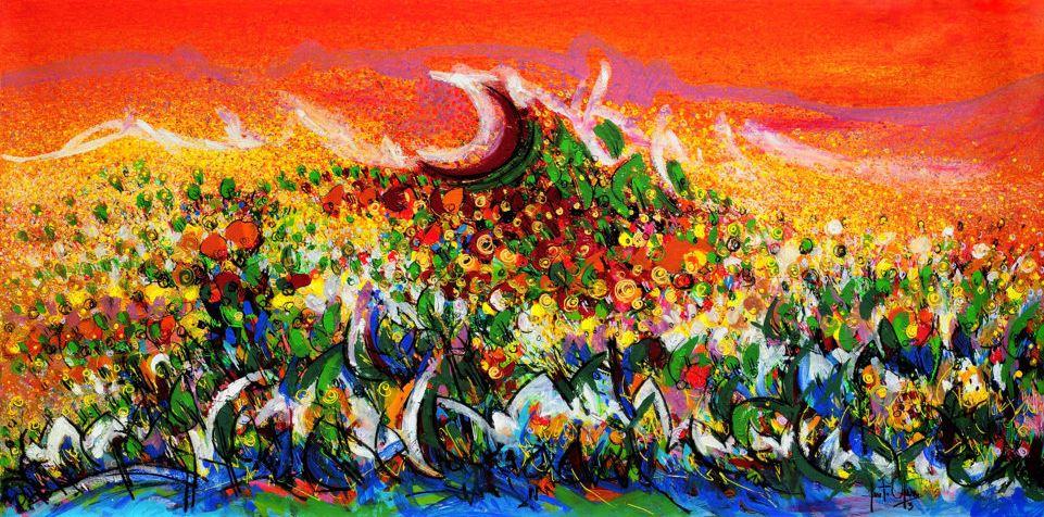 Flora lunar, de Justo Osuna