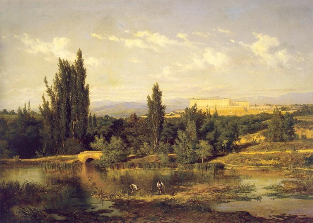 Paisaje de la Ribera de Manzanares, de Carlos de Haes