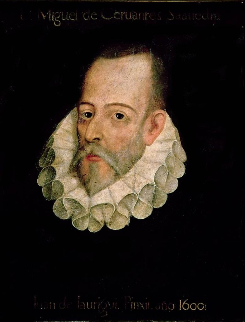 Retrato de Miguel de Cervantes, por Juan de Jáuregui